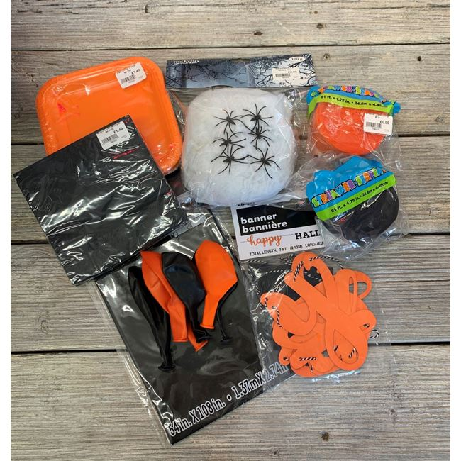 Halloween Home Decorations Pack - Black