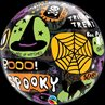 additional image for Balloon Bubble, 22 inch, Halloween Messages and Icons