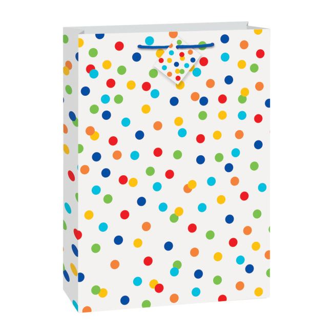 Gift Bag Polka Dot Jumbo