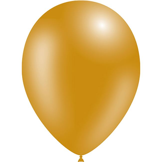 "11"" Latex Balloon - Metallic Gold"