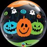 additional image for Balloon Bubble Happy Halloween 22 inch