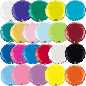 "18"" Foil Balloon - Metallic Round (Click for full colour range)"