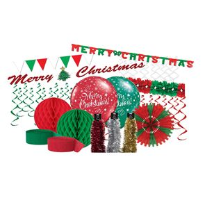 Christmas Celebration Pack Red White and Green