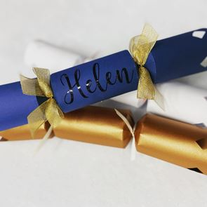 Personalised Crackers - Set of 6