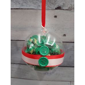 Christmas Jacket Elf Bauble - 8cms