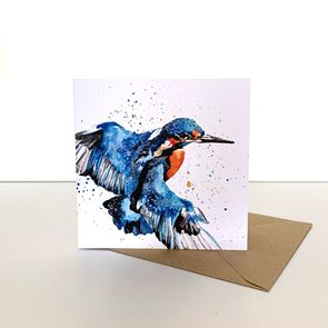 Greeting Card -  Kingfisher