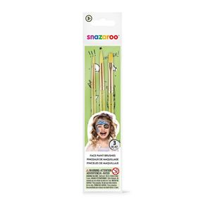 Face Painting Brush Set Pk3