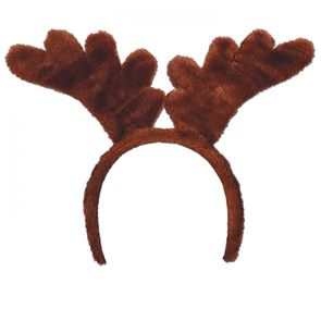 Reindeer Antlers Soft Touch, attached to snap-on headband