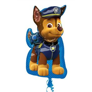 Paw Patrol Chase SuperShape Foil Balloon - 31in x 23in