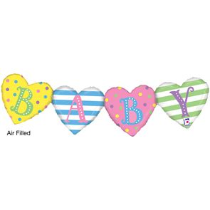"41"" Foil Balloon, Air Filled - Baby Bunting"