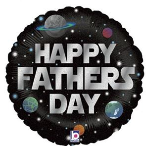 Galactic Fathers Day Foil Balloon - 18 inch