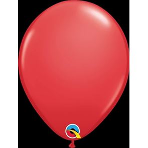 Balloon, Latex, Red, 11inch, Pack of 25