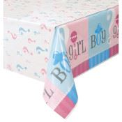 Tablecover Plastic Gender Reveal