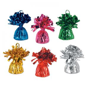 Balloon weight - Assorted Colours (Pack of 12)