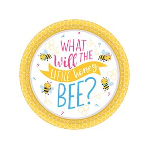 What Will It Bee Paper Plate 18cm