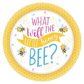 What Will It Bee Plates 26cm