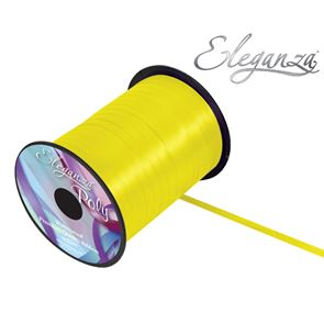 Polyester Balloon Ribbon 5mm wide  - Yellow