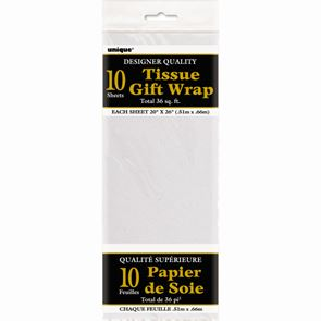 Sheet Tissue Paper White Pack of 10