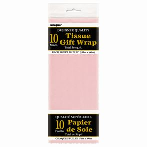 Sheet Tissue Paper Pastel Pink Pack of 10