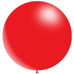 Red Latex Balloon - 36 inch (Uninflated)