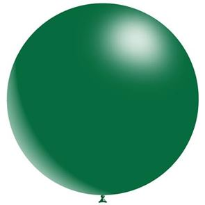 Forest Green Latex Balloon - 36 inch (Uninflated)
