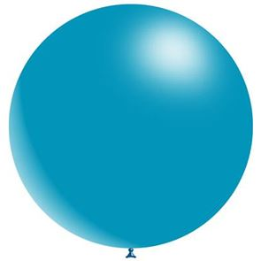 Blue Latex Balloon - 36 inch (Uninflated)