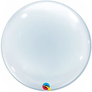 Clear Balloon Bubble - 24 inch (Supplied uninflated)