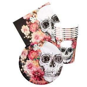Table Set Day Of The Dead