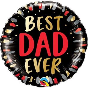 Best Dad Ever Foil Balloon - 18 inch