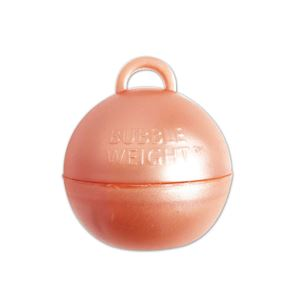 Rose Gold Bubble Balloon Weight - 35gms