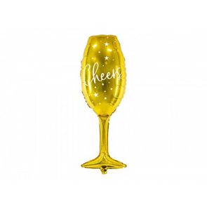 Gold Champagne Foil Balloon - 31.5 inch