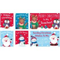 Christmas Cards For School, Pack of 32