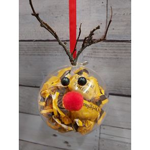 Reindeer Sweet Bauble - 8cms