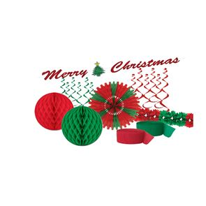 Red & Green Christmas Party Pack