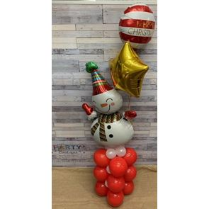 Snowman Fizz Display